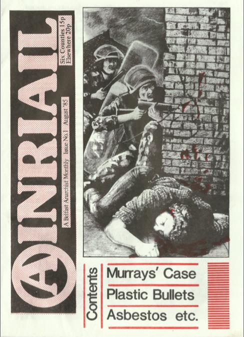 Ainriail 1 cover